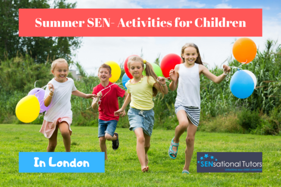 SEN-Friendly Activities for Children | London | Sensational Tutors